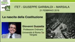 Incontro con il costituzionalista Prof. Guzzetta